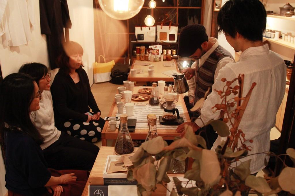 dongreeコーヒースタンドと暮らしの道具店